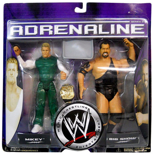 WWE Wrestling Adrenaline Series 21 Mikey & Big Show Action Figure 2-Pack