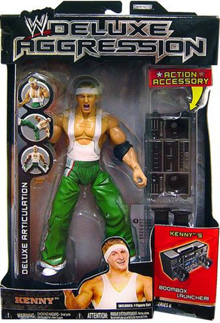 WWE Wrestling Deluxe Aggression Series 6 Kenny Action Figure