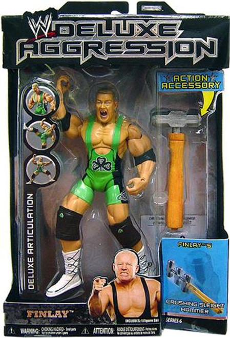 WWE Wrestling Deluxe Aggression Series 6 Finlay Action Figure