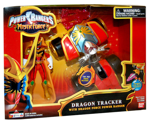 Power Rangers Mystic Force Dragon Tracker with Dragon Force Power Ranger Action Figure