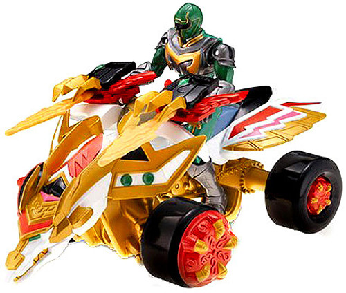 Power Rangers Mystic Force Legendary Battlized Magic Tracker with Green Ranger Action Figure [Loose]