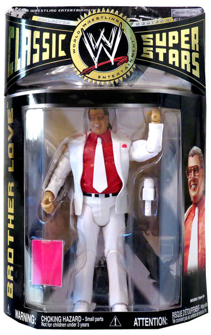 WWE Wrestling Classic Superstars Series 13 Brother Love Action Figure