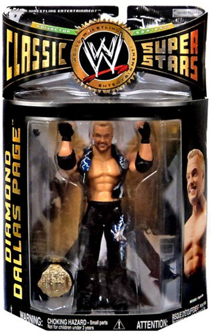 WWE Wrestling Classic Superstars Series 14 Diamond Dallas Page Action Figure