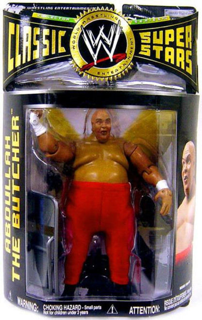 WWE Wrestling Classic Superstars Series 14 Abdullah the Butcher Action Figure