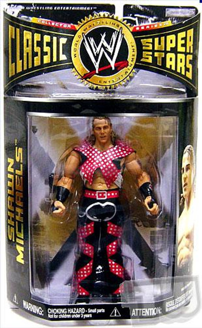 "WWE Wrestling Classic Superstars Series 15 Shawn Michaels ""Screw Job Match"" Action Figure [With Pre-Match Gear]"