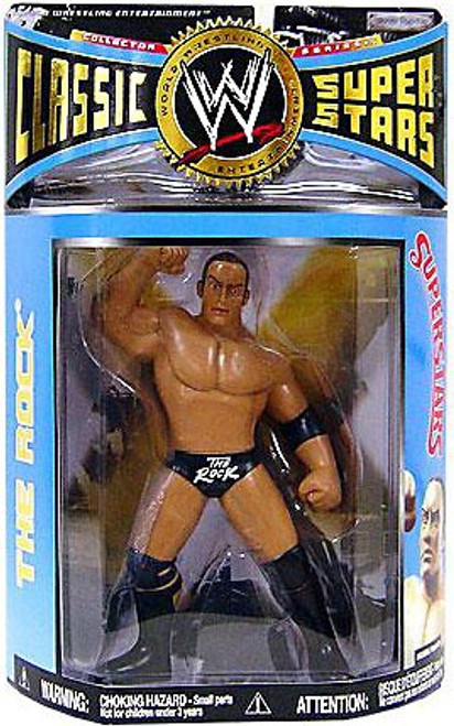 WWE Wrestling Classic Superstars Series 15 The Rock Action Figure