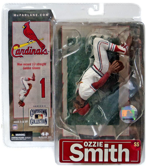 McFarlane Toys MLB St. Louis Cardinals Cooperstown Collection Series 4 Ozzie Smith Action Figure [Brown Glove]