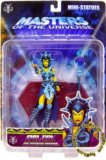NECA Masters of the Universe Evil Lyn Exclusive Mini Statue [Classic Colors]