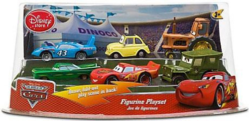 Disney Cars The World of Cars Multi-Packs Cars Figurine Playset Exclusive PVC Figurine Set [Set #1]