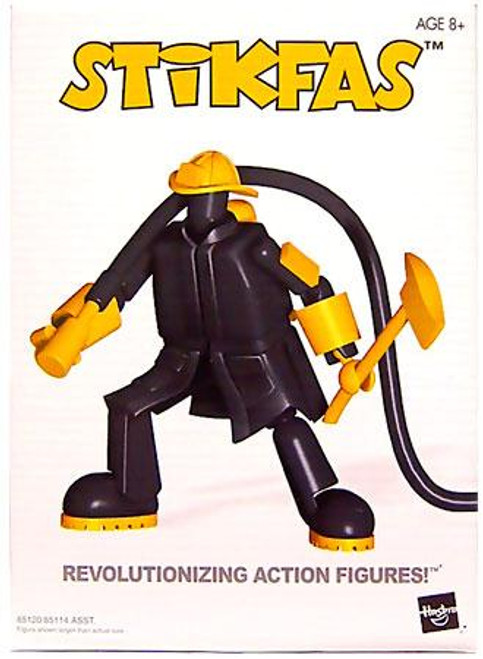 Stikfas Alpha Male Firefighter Action Figure Kit #5