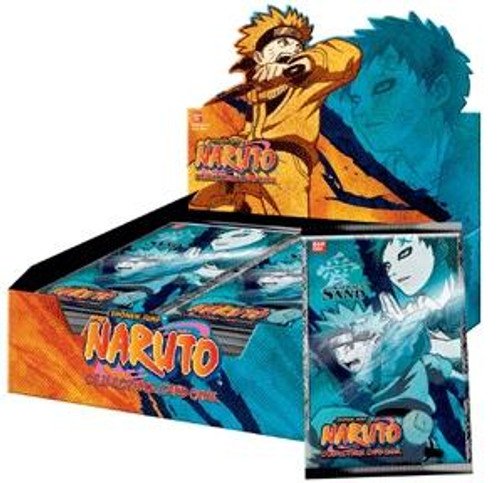 Naruto Card Game Curse of the Sand Booster Box [24 Packs]