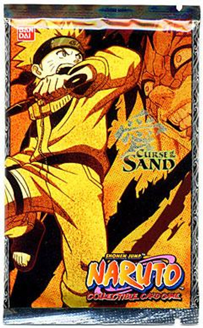 Naruto Card Game Curse of the Sand Booster Pack