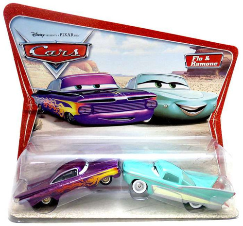 Disney Cars Series 1 Flo & Ramone Diecast Car 2-Pack