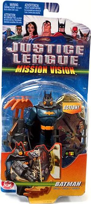 Justice League Mission Vision Batman Action Figure [Green & Black Armor]