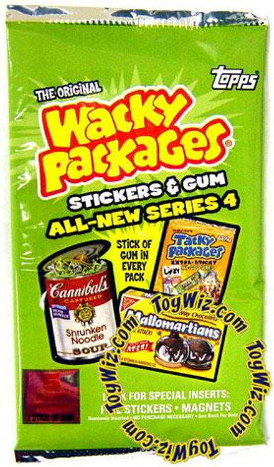Wacky Packages All-New Series 4 Trading Card Pack