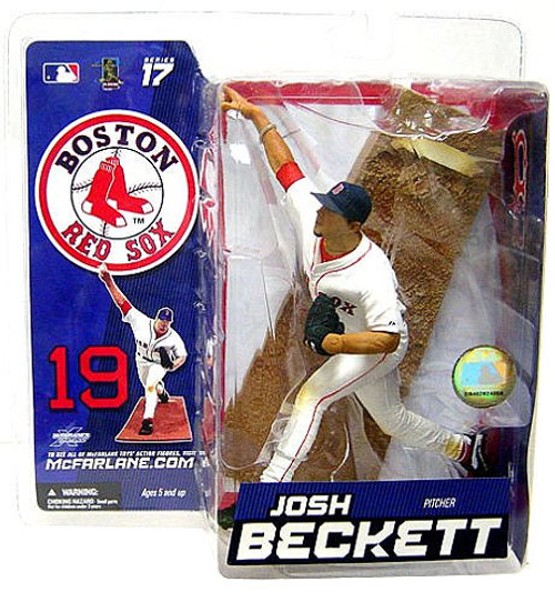McFarlane Toys MLB Boston Red Sox Sports Picks Series 17 Exclusive Josh Beckett 2 Exclusive Action Figure