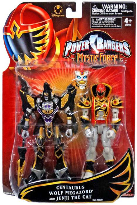 Power Rangers Mystic Force Centaurus Wolf Megazord and Jenji the Cat Exclusive Action Figure 2-Pack