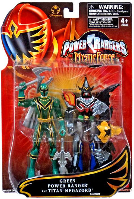 Power Rangers Mystic Force Green Power Ranger and Titan Megazord Exclusive Action Figure 2-Pack