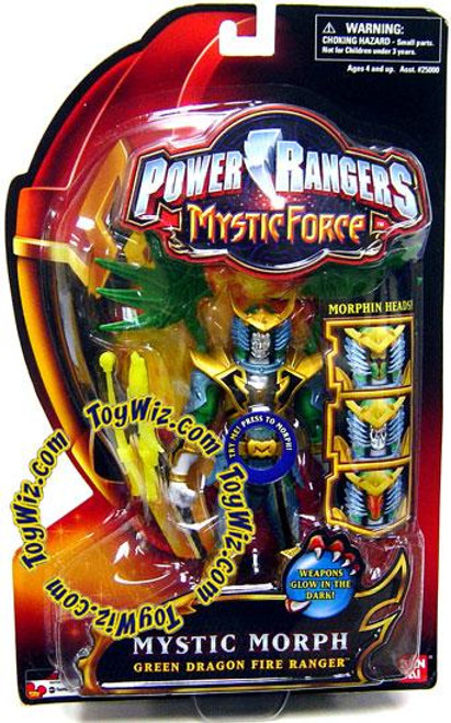 Power Rangers Mystic Force Mystic Morph Green Dragon Fire Ranger Action Figure