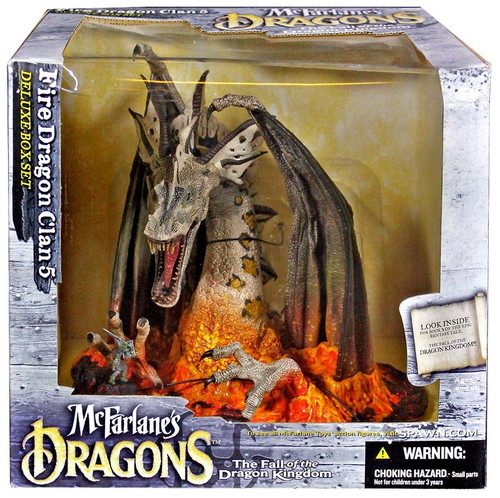 McFarlane Toys McFarlane's Dragons Series 5 Fire Dragon Clan 5 Action Figure