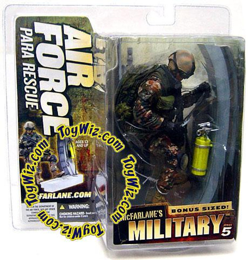 McFarlane Toys McFarlane's Military Series 5 Air Force Para Rescue Action Figure [Random Ethnicity]