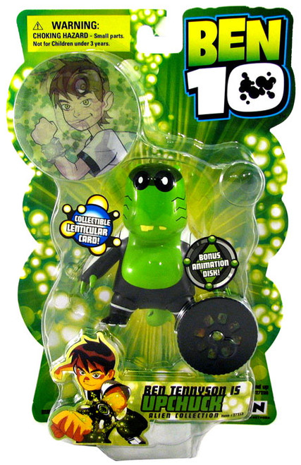 Ben 10 Alien Collection Series 1 Upchuck Action Figure