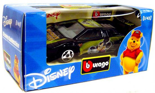 Disney Burago Mickey Mouse Diecast Car