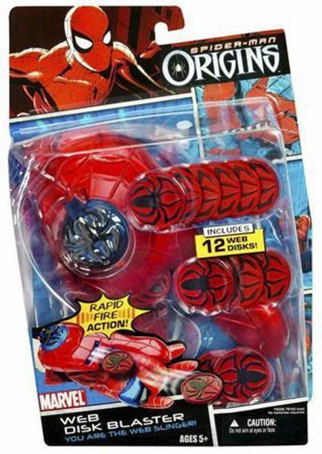 Spider-Man Origins Web Disk Blaster