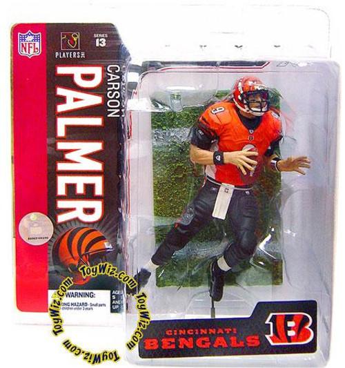 McFarlane Toys NFL Cincinnati Bengals Sports Picks Series 13 Carson Palmer Action Figure [Orange Jersey Variant]