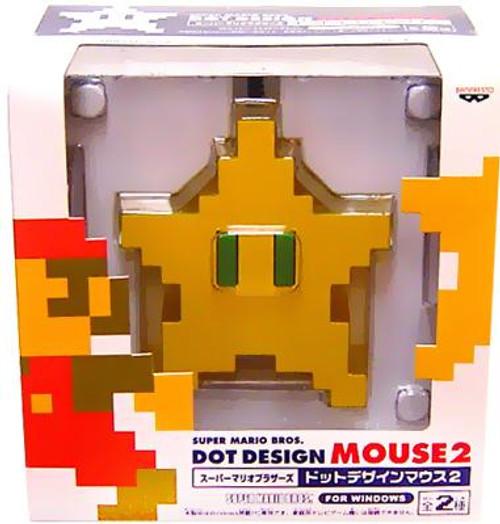 Super Mario Dot Design Mouse 2 Star Computer Mouse