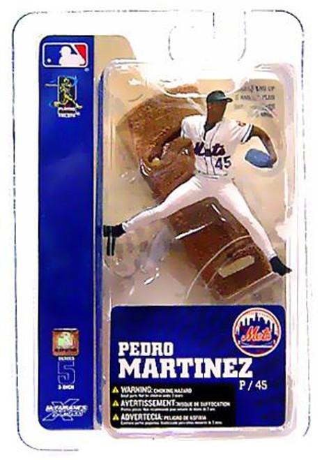 McFarlane Toys MLB New York Mets Sports Picks 3 Inch Mini Series 5 Pedro Martinez Mini Figure