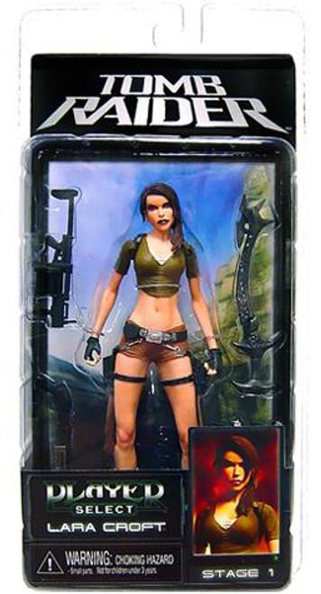 NECA Hitman Player Select Series 1 Lara Croft Action Figure