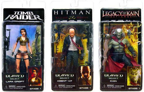 NECA Tomb Raider Player Select Series 1 Set of 3