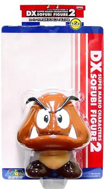Super Mario DX Sofubi Goomba 7-Inch Vinyl Figure