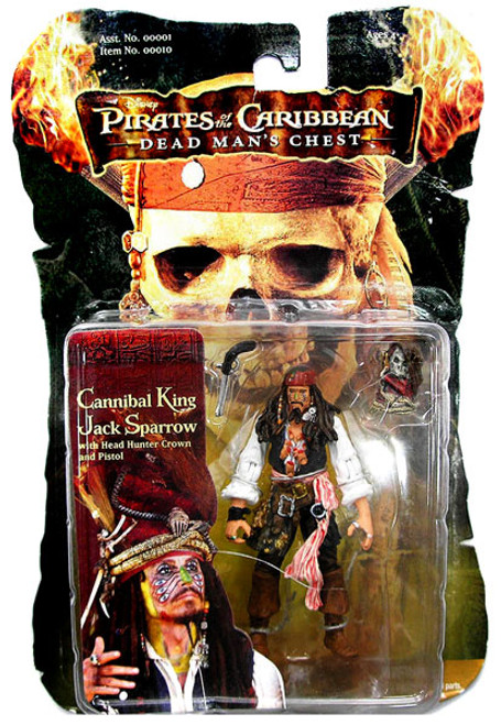 Pirates of the Caribbean Dead Man's Chest Captain Jack Sparrow Action Figure [Cannibal King]