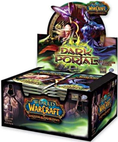 World of Warcraft Trading Card Game Dark Portal Booster Box [24 Packs]