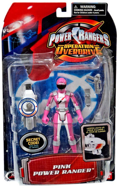 Power Rangers Operation Overdrive Pink Power Ranger Action Figure