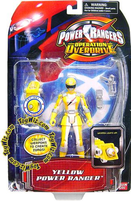 Power Rangers Operation Overdrive Yellow Power Ranger Action Figure