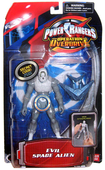 Power Rangers Operation Overdrive Evil Space Alien Action Figure