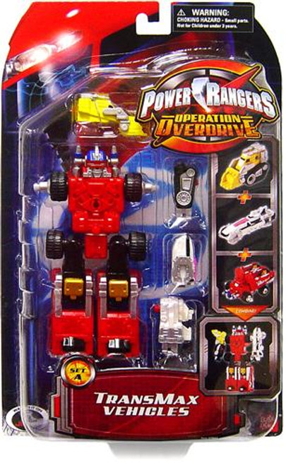 Power Rangers Operation Overdrive TranxMax Vehicles [Set A]