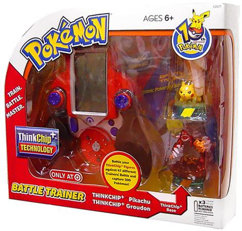 Pokemon 10th Anniversary Battle Trainer Exclusive Electronic Toy