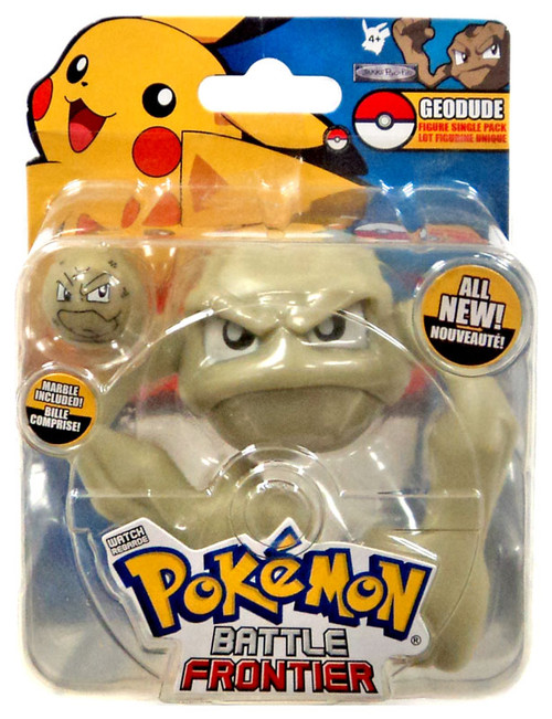 Pokemon Battle Frontier Series 1 Geodude Figure