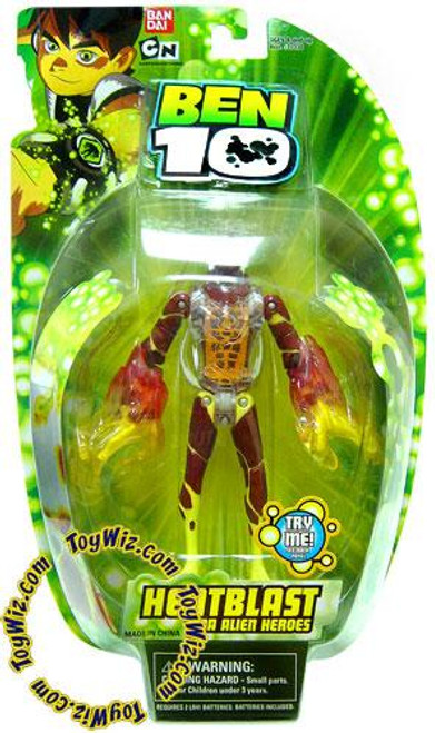Ben 10 DNA Alien Heroes HeatBlast Action Figure
