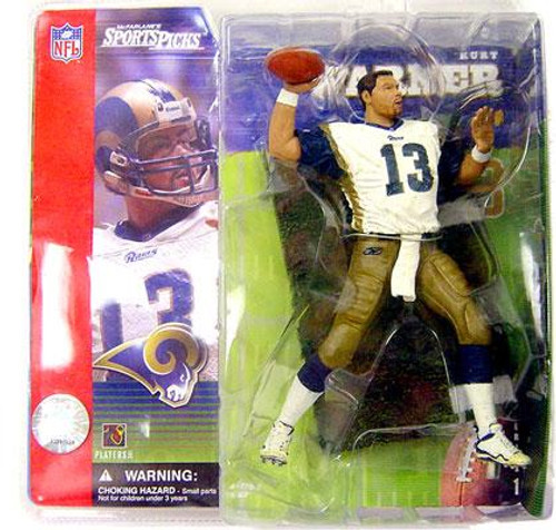 McFarlane Toys NFL St. Louis Rams Sports Picks Series 1 Kurt Warner Action Figure [No Helmet Variant]