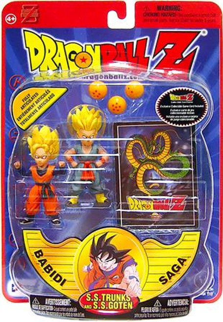 Dragon Ball Z Series 8 Babidi Saga SS Trunks & SS Goten Action Figure 2-Pack