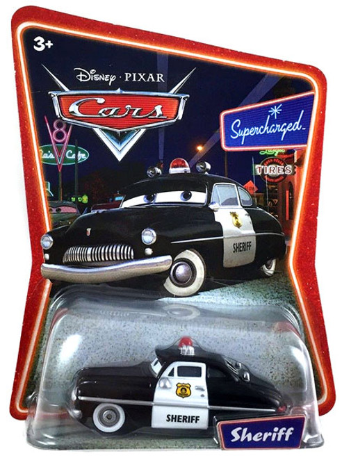 Disney Cars Supercharged Sheriff Diecast Car