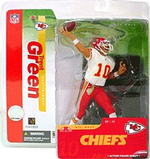 McFarlane Toys NFL Kansas City Chiefs Sports Picks Series 10 Trent Green Action Figure [White Jersey Variant]