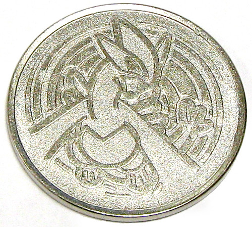 Nintendo Pokemon Lugia Metal Coin