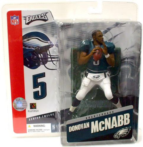 McFarlane Toys NFL Philadelphia Eagles Sports Picks Series 12 Donovan McNabb Action Figure [No Helmet Variant]