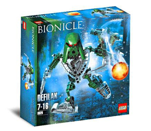 LEGO Bionicle Defilak Set #8929